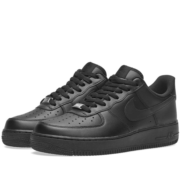 lowest price df8cd 33828 Black Nike Air Force Ones (Low). M5a9efe1c3b160872d1b07541